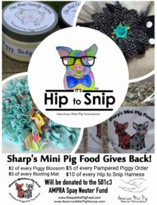 Sharp's Mini Pig Food